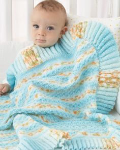 The free patterns included area selection of baby blankets, which you will enjoy creating to keep or gift.     1944 Lace Tucked Pinafore D...