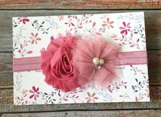 Mauve Headband/Mauve Baby Headband/Dusty Pink Headband/Dusty Rose Headband/Baby Headband/Newborn Photo Prop/Newborn Headband/Infant Headband by JuliaGraceDesigns1 on Etsy