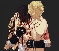 ((Open RP)) *stabs nails into his back and bites his neck, withdrawing lots of blood, growling like a beast*