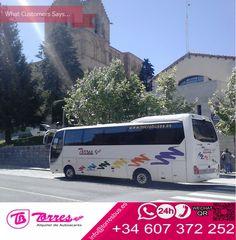 La mejor publicidad... el aval de nuestros clientes #alquiler #autobus #36plazas #TorresBus #Avila #viajes #turismo http://www.torresbus.es