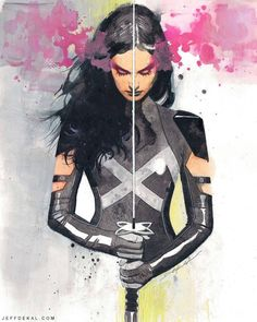 Psylocke by Jeff Dekal *