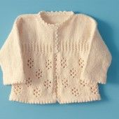 Precious Girl's Knitted Sweater