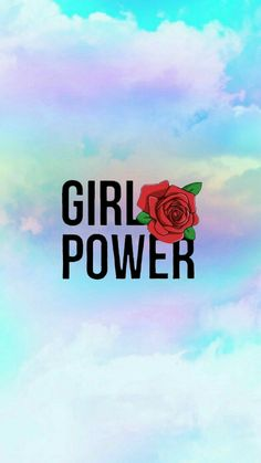 "Fond d'écran multicolore ""Girls power 🌷"" ~ Fonds d'écrans"