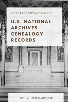 While there is probably a U.S. National Archives center near you, today, you don't have to travel at all to access many of their records. The National Archives and Records Administration (NARA) offers a rich trove of online documents, known as Access to Archival Databases (AAD), and it's completely free. Free Genealogy Records, Free Genealogy Sites, Genealogy Research, Security Application, Military Records, Ancestry Dna, Simple Website