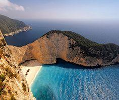 Beautiful Beaches to Visit in 2014: Navagio Beach, Zakynthos, Greece