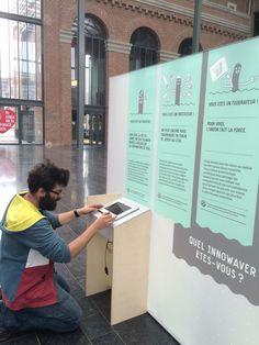 Dans les coulisses du montage de l'#ExpoWave qui prend ses quartiers à Lille, du 14 au 21 avril 2015 :: Plus d'infos sur : http://www.wave-innovation.com/lille/ :: #WaveLille