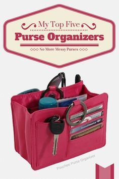 If you love purses and have lots of them, or if you just simply lose things in it a lot, chances are you could benefit from a way to organize the inside of your purse