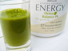 Miracle Clay's Detox Green Smoothie & The Health Benefits of Edible ClayLearn about the AMAZING healing benefits of Montmorillonite Clay. This green smoothie is a fabulous way to drink it. YUM!