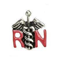 RN SYMBOL / HOBBIES & OCCUPATIONS  If you're a Nurse, then you'll love this RN symbol charm!
