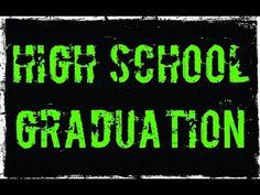 YouTube My high school graduation Graduation 2016, High School Graduation, Graduate School, My High School, Youtube I, Neon Signs, University