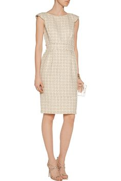 Shop on-sale Badgley Mischka Metallic tweed dress. Browse other discount designer Dresses & more on The Most Fashionable Fashion Outlet, THE OUTNET.COM