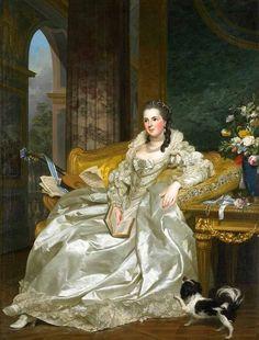 "Roslyn Alexander.  ""The Countess Of Egmont Pignatelli"".1763.Рослин Александр. Графиня Эгмонт Пиньятелли.1763"