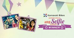 Highlights of the RE Selfie Contest by Karnavati Bikes