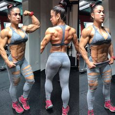 Fitness Models, Ripped Girls, Fitness Inspiration Body, Muscular Women, Muscle Fitness, Female Fitness, Gym Fitness, Muscle Girls, Female Athletes
