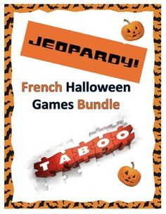French Halloween Games Bundle