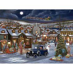 Rejoice Christmas -  1000 Piece Glow-In-The-Dark Jigsaw Puzzle