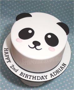recipe panda cake - Google Search