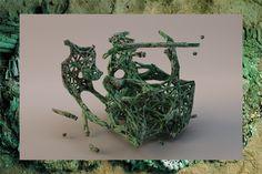 Digital-based Sculptures | Matthew Jarvis Wall - Arch2O.com Sculptures, Digital, Wall, Sculpting, Sculpture, Statue