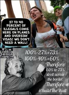 #BuildTheWall. And that folks is our future,  can't even do basic math, but let's keep letting 'em in, right?