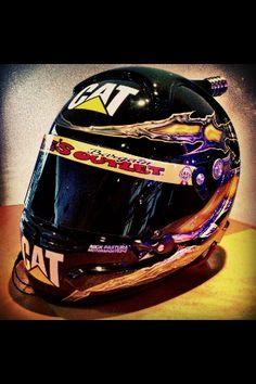 Jeff Burton 2013 NASCAR Cat RCR helmet