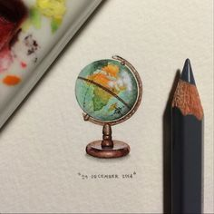 You have the world at your fingertips. Art for Ants by Lorraine Loots