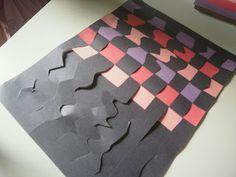 Adventures of a Homeschool Mom: Paper Weaving