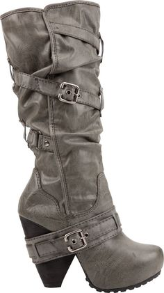 BIG BUDDHA Lila Harness Womens Boots thestylecure.com