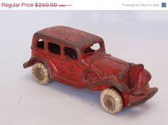 Spring Sale Antique Cast Iron Toy A.C. por RememberWhenShoppe