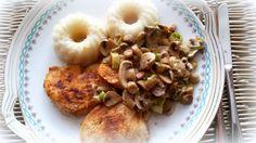 Simi´s Sattmacher- Rezepte und mehr.....: Reiskuchen mit Rahmchampignons