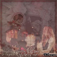 Anybody capable of Love is capable of Being saved! Klaus And Caroline, Photo Editor, Animation, Scrapbook, Love, Painting, Art, Amor, Art Background