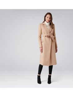 Ellen maxi coat Camel - Womens Fashion | Forever New