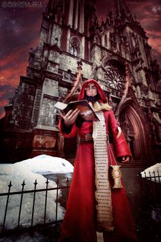 Warhammer 40K Ministorum Priest (Missionary) by *Pugoffka-sama on deviantART #cosplay
