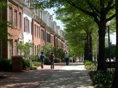 Cameron HIll townhouses, Silver Spring, Maryland.