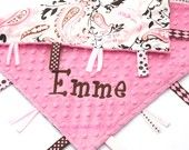 Personalized Ribbon Lovey