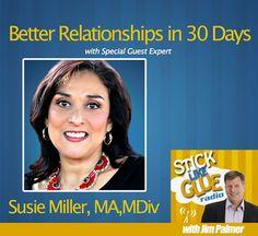 Stick Like Glue Radio | Better Relationships in 30 Days with Susie Miller #podcast #marketing #newsletterguru
