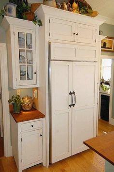 INSPIRATION: built-in fridge