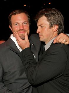 Adam Baldwin and Nathan Fillion Dallas Comic-Con 5/17-5/19/13- I've died and gone to Serenity!