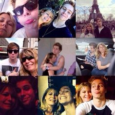 liz and luke selfies are the best Jordyn's Board ❤ liked on Polyvore featuring 5sos and luke hemmings