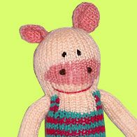 Hello I'am Enrico the pig! We are Pibes! We are soft, colorful and unique!    http://www.pibes.it