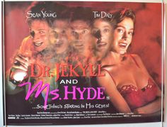 Dr. Jekyll And Ms. Hyde - Original Quad Movie Poster