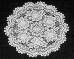White Heritage Lace Doily