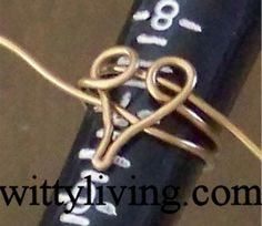 wirewrapping patterns   Instructions to make this wire wrapped ring: