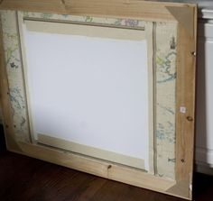 Framing On the Cheap {How to Frame Your Own Posters and Prints}