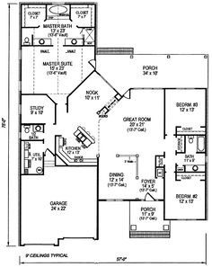 First Floor of Plan ID: 26459
