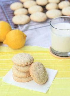 Lemon-Vanilla Sugar Cookies (gluten free)