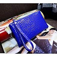 Mulher+Bolsa+de+Festa+Couro+Ecológico+Casual+Vermelho+Azul+Rosa+claro+Azul+Real+Melancia+–+BRL+R$+33,90