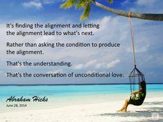 #AbrahamHicks #Alignment #Conversation