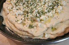 Τυρόψωμο σπέσιαλ Homemade Pastries, Hummus, Ethnic Recipes, Food, Homemade Hummus, Meal, Essen, Hoods, Meals