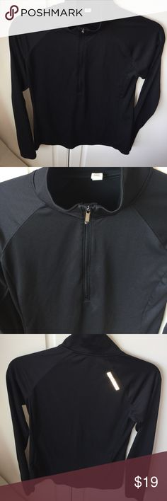Under Armour pull over small black UnderAemour pull over black female small EUC Under Armour Jackets & Coats