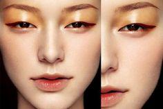 Beautiful asian makeuop